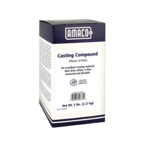 Amaco Casting Compound (Plaster Of Paris) 5lbs (2.27kg)