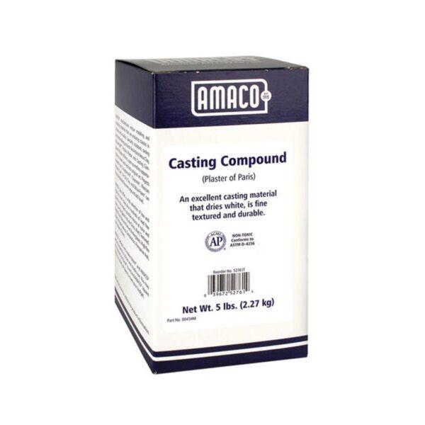 Amaco Casting Compound (Plaster Of Paris) 5lbs (2.27kg)