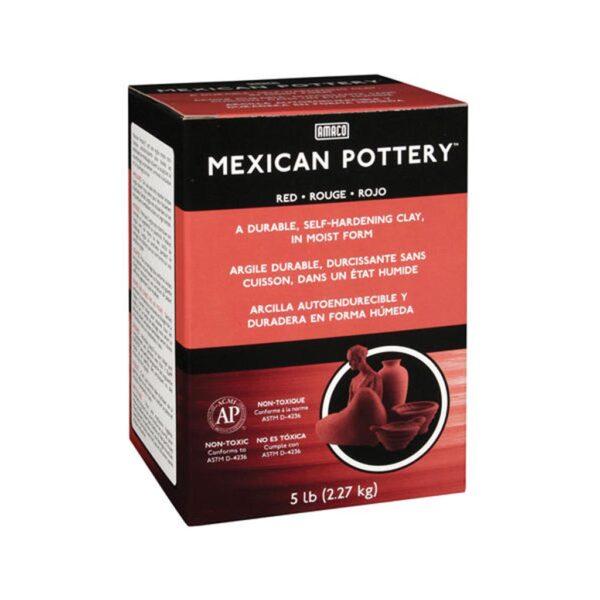 Amaco Mexican Pottery Clay Terrecota 5lbs (2.27kg)