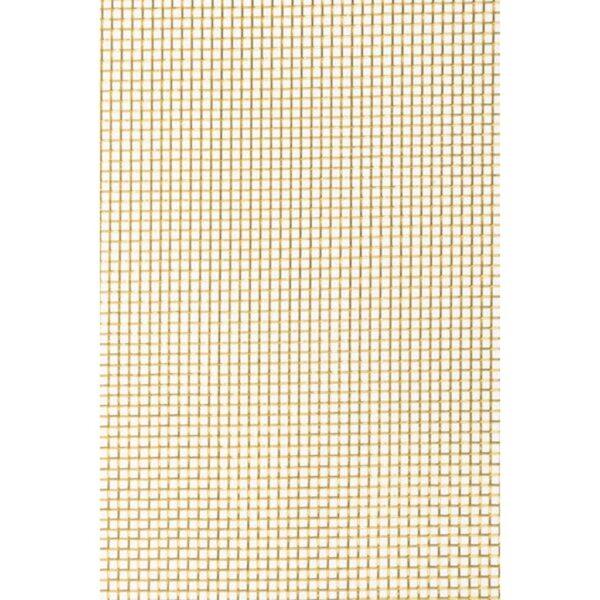 Amaco Wireform Mesh Rolls - Designers Brass 5ft x 20 in x 18 mesh