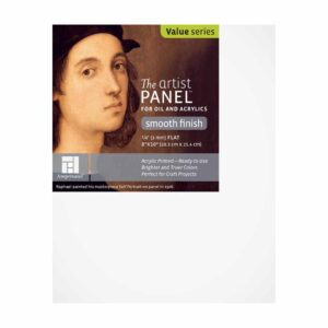Ampersand Artist Panel Primed Smooth - Flat 1/8 in Profile 8 in x 10 in