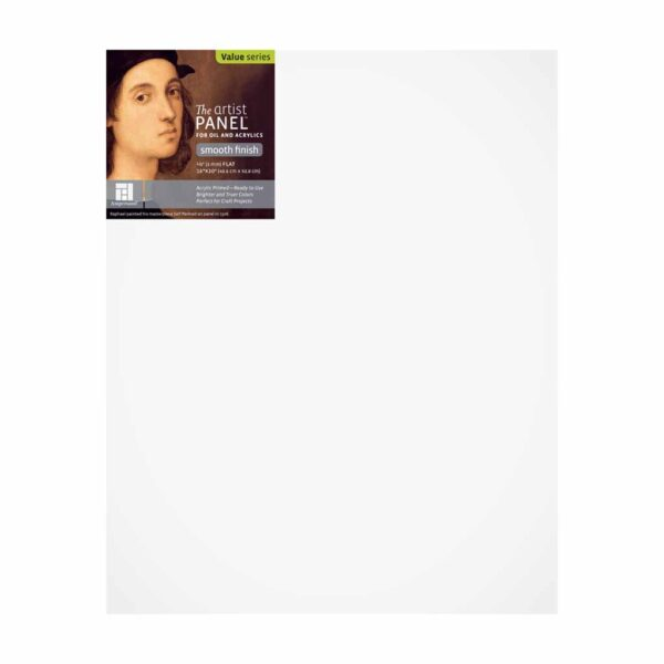 Ampersand Artist Panel Primed Smooth - Flat 1/8 in Profile 16 in x 20 in