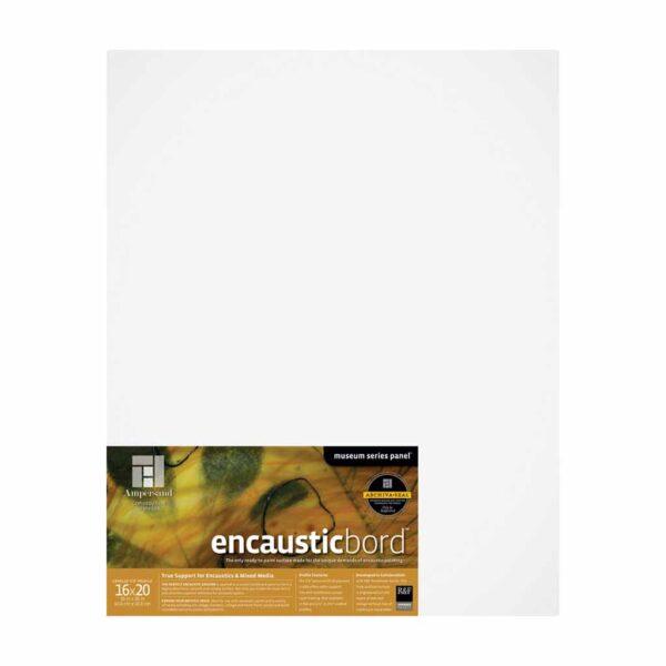 Ampersand Encausticbords - Cradled 7/8 in Profile 16 in x 20 in