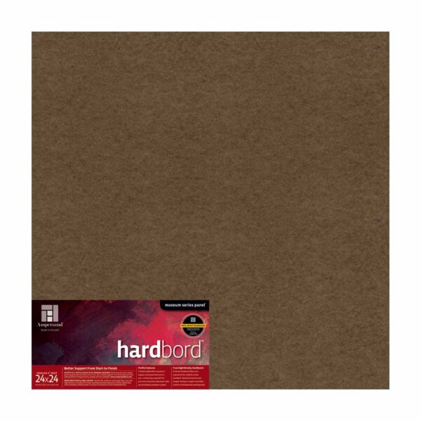 Ampersand Hardbord - Cradled 2 in Profile 24 in x 24 in