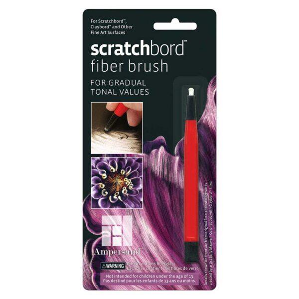Scratchbord Fiber Brush Packaged