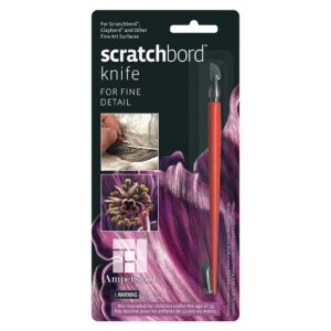 Scratchbord Knife Packaged
