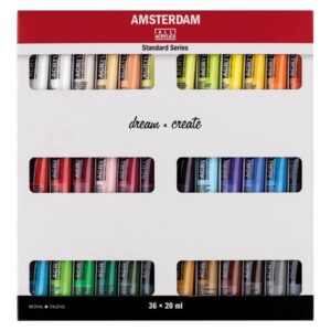 Amsterdam Acrylic Set 36 x 20ml