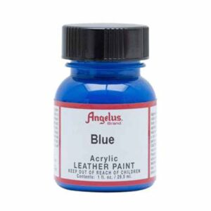 Angelus Acrylic Leather Paint - Blue 040 30 ml (1 OZ)