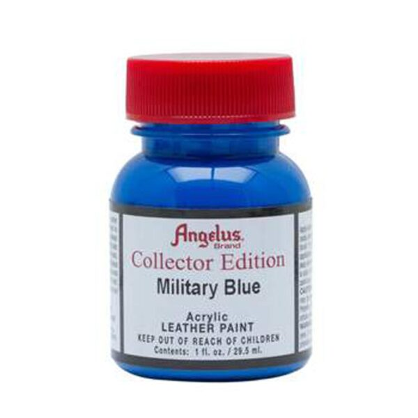 Angelus Leather Paint Collectors Edition - Military Blue 324 - 30 ml (1 OZ)
