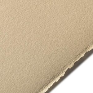 BFK Rives Printmaking Papers - Tan 22 x 30 in 2 Deckles 280gsm (104lb)