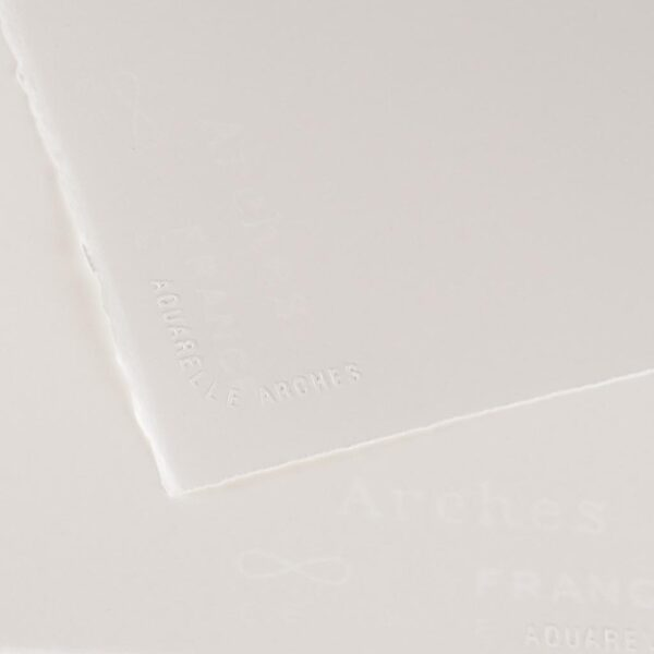 Arches Watercolor Paper - Natural White 22 x 30 in Hot Press 300gsm (140lb)