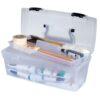 Artbin Essentials Art Supply Boxes - Translucent 83805 1 Tray 13in