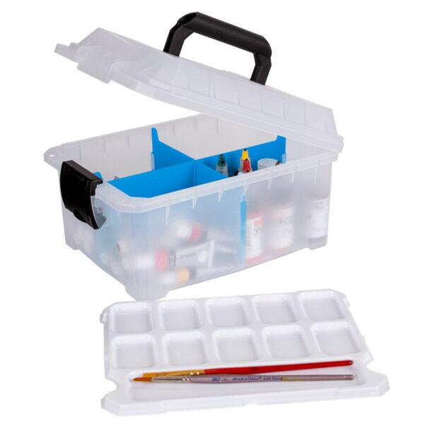 Artbin Sidekick Storage Boxes - Translucent Cube 6816AG 11in