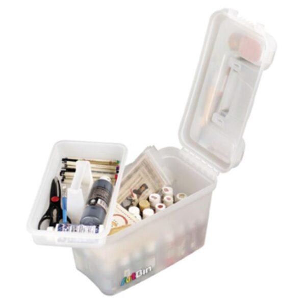 Artbin Sidekick Storage Boxes - Translucent 1 Tray 8408AB 15in