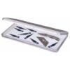 Artbin Slim Line Magnetic Box - Clear 6811AG - 7.375in x 3.625in x 0.6875in