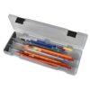Artbin Pencil Utility Box - Charcoal 6900AB - 12.38in x 4.875in x 1.75in