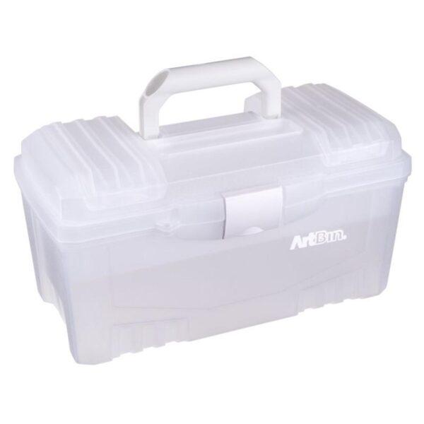Artbin Twin Top Storage Box Translucent 6918AB