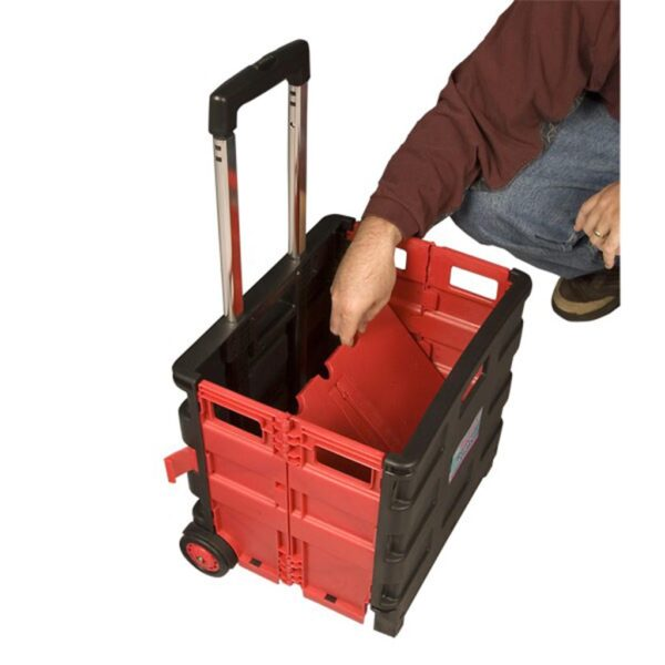 Creative Mark Austin Roller Crate Red Collapsible