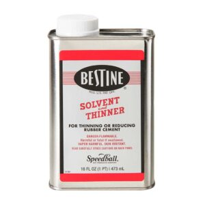 Best Test Bestine Rubber Cement  Thinner