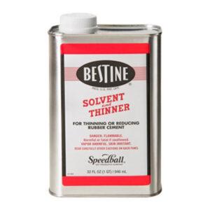 Best Test Bestine Rubber Cement  Thinner - 946 ml (32 OZ)
