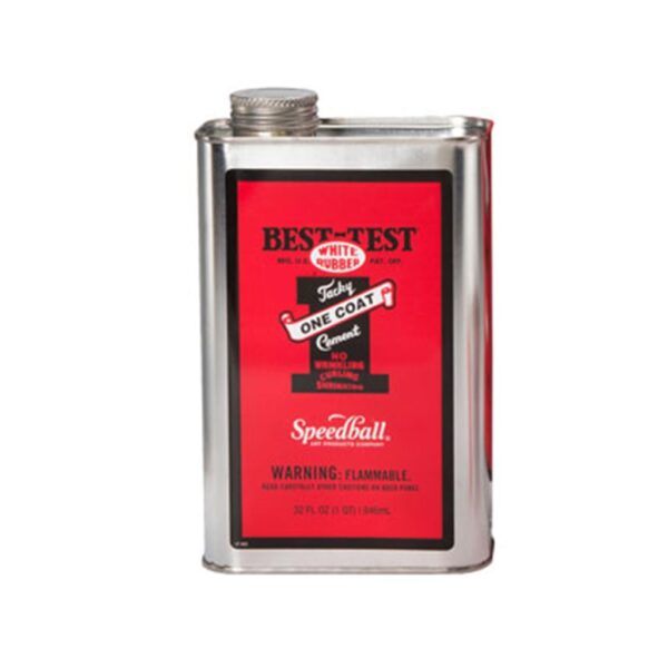 Best Test One Coat Rubber Cement  - 946 ml (32 OZ)