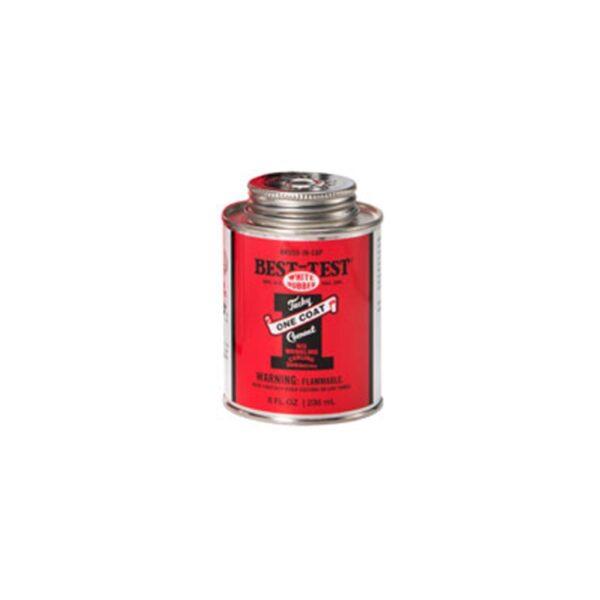 Best Test One Coat Rubber Cement  - 237 ml (8 OZ)