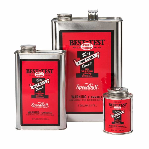 Best Test One Coat Rubber Cement