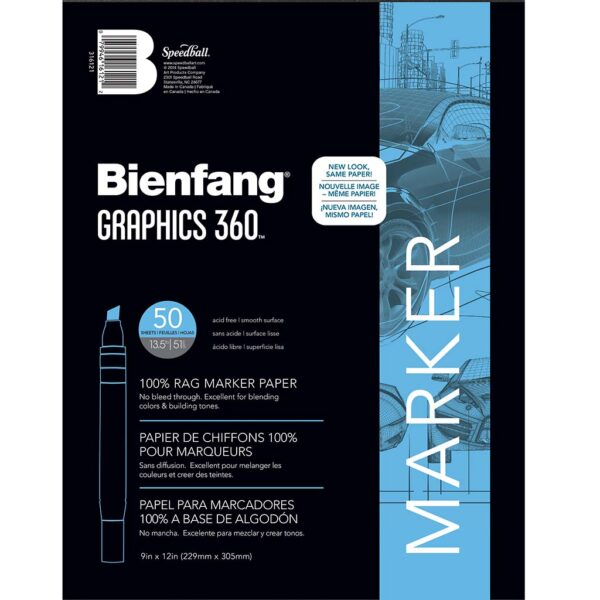 Bienfang Graphics 360 Pads - 50 Sheets 19 x 24 in
