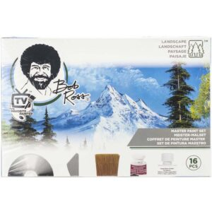 Bob Ross Master Paint Kit Closed
