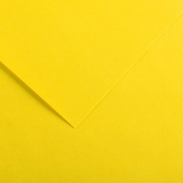 Canson Colorline Art Papers - Canary Yellow 300 gsm (184 lb) 8.5 in x 11 in