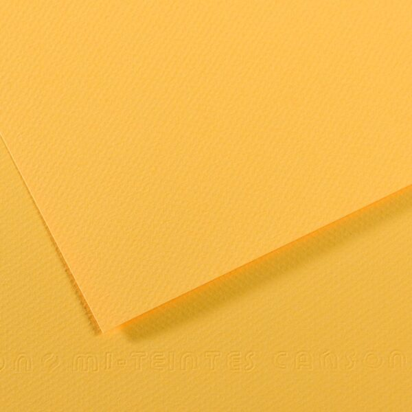 Canson Mi-Teintes Drawing Papers - Canary 400 160gsm 19 in x 25 in