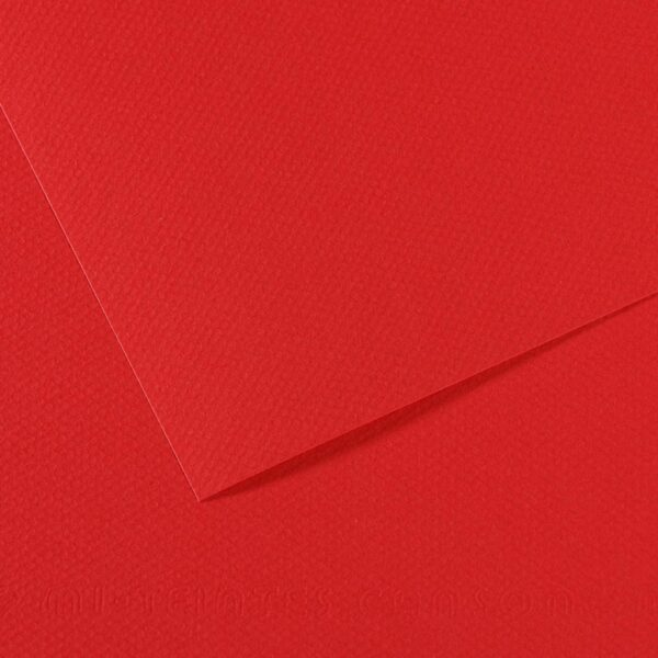 Canson Mi-Teintes Drawing Papers - Red 505 160gsm 19 in x 25 in