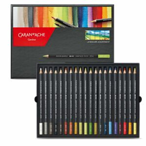 Caran dAche Museum Watercolor Pencil Sets - Set of 20