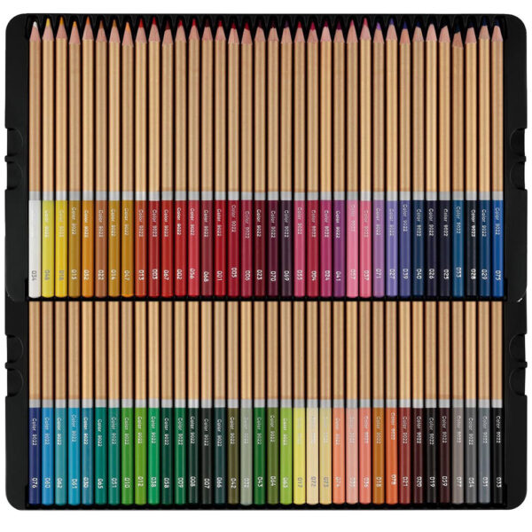 Cezanne Colored Pencils Set 72 Trays