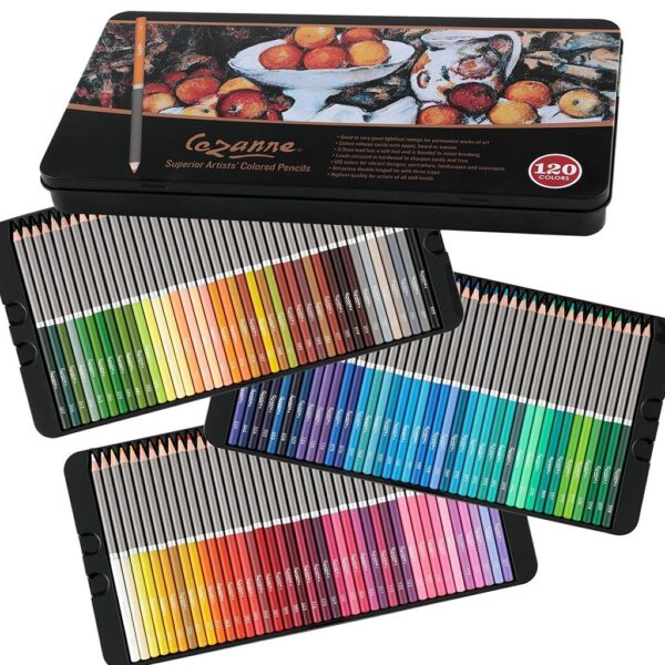 Cezanne Colored Pencils Set 120 3 Tray