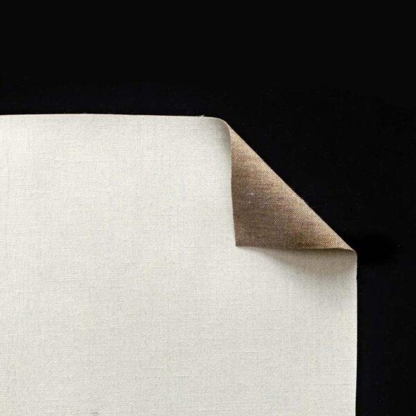 Claessens Oil Primed Linen Rolls - 13DP Medium Texture Double Primed 82in x 6 Yds