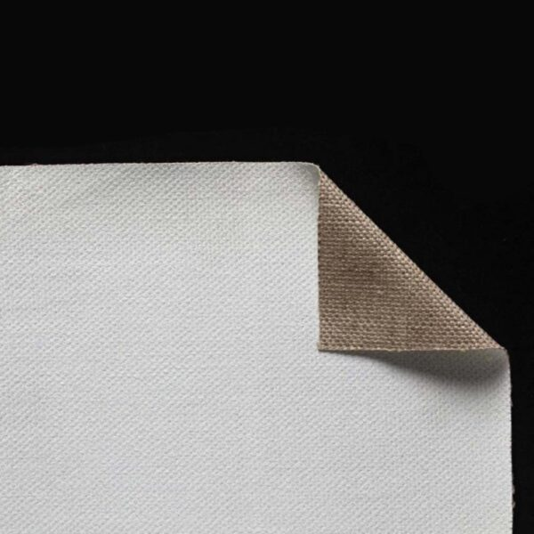 Claessens Acrylic Primed Linen Rolls - No 29 Medium Texture Single Primed 82in x 6 Yds