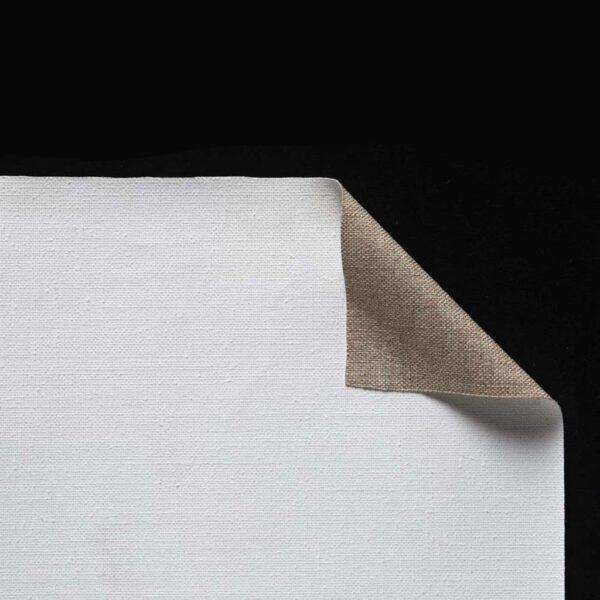 Claessens Acrylic Primed Linen Rolls - No 109 Medium Texture Double Primed 82in x 6 Yds
