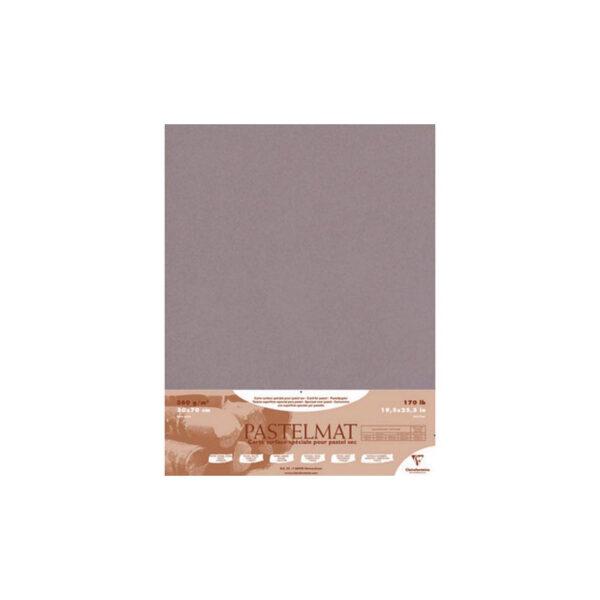 Claire Fontaine Pastelmat Dark Grey 19 x 27