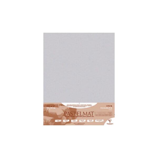 Claire Fontaine Pastelmat Light Grey 19 x 27
