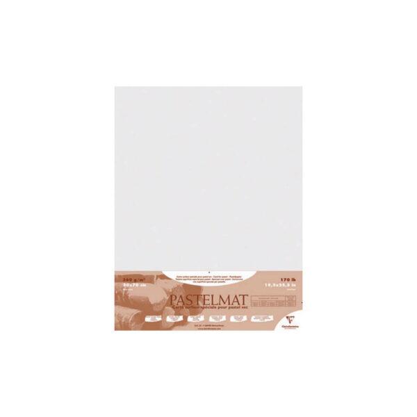 Claire Fontaine Pastelmat White 19 x 27