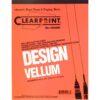 "Clearprint Design Vellum 1000H Pad 50 Sheets 8.5"" x 11"""