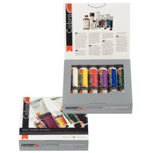 Cobra Water Mixable Oil Color Introductory Set 6 x 20 ml