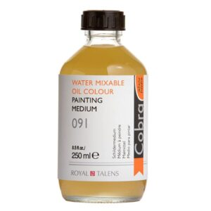 Cobra Water Mixable Painting Medium - 091 Bottle 250 ml (8.5 OZ)
