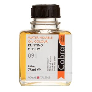 Cobra Water Mixable Painting Medium - 091 Bottle 75 ml (2.5 OZ)