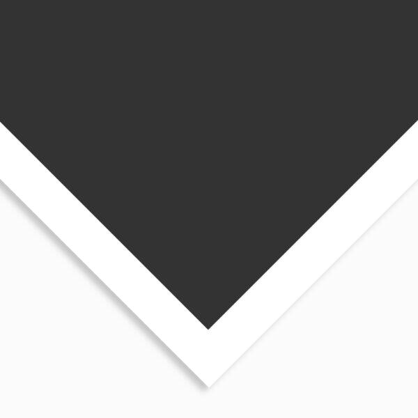 Art Spectrum Colourfix Coated Pastel Papers - Deep Black 19.5  x 27.5 in