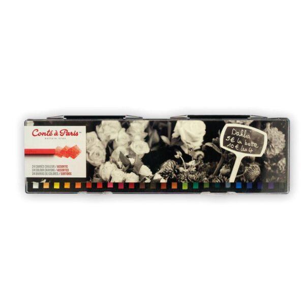 Conte Crayon Assorted Set of 24