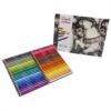 Conte Pastel Pencils - Metal Tin Assorted Set of 48