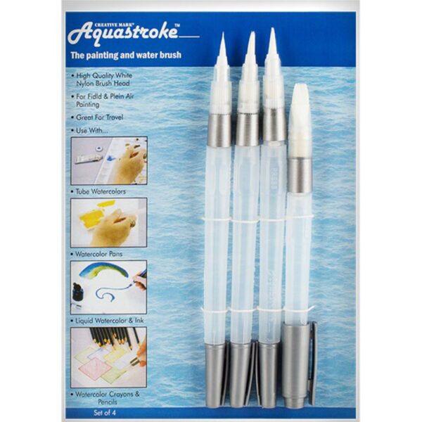 Creative Mark Aquastroke Brush Set of 4