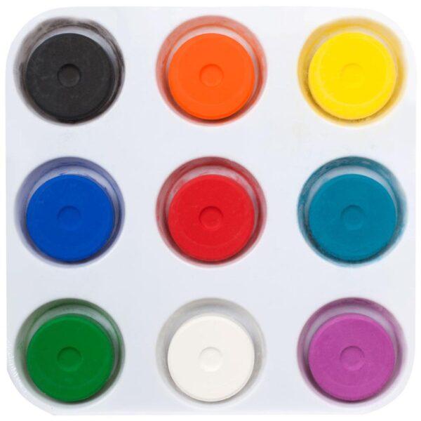 Chromatemp Tempera Cake Set 9 Colors